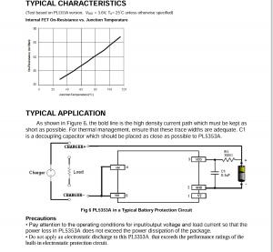 锂电池保护电路pl5353a,外围超简