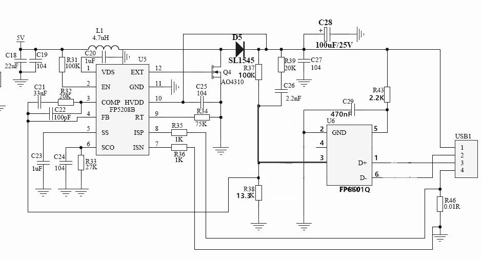 FP6601Q是高通Quick Charge 3.0/2.0(QC3.0,QC2.0)和华为海思快充(FCP)快速充电协议控制器。可自动识别充电设备类型,调整充电器的输出电压,使之获得设备允许的安全最高充电电压,在保护充电设备的前提下节省充电时间 优点: 完全支持快速充电QC3.0,QC 2.0,华为海思快充FCP: A:3.