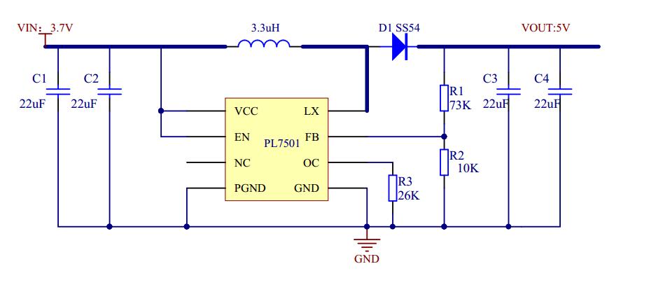 3v升压9v简易电路制作